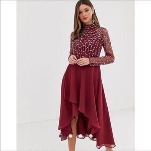 ASOS midi skirt size 8